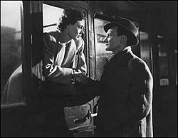 Celia johnson and Trevor Howard Carnforth Station