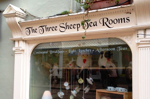 The Three Sheep Tea Rooms Skipton by Zoe Dawes