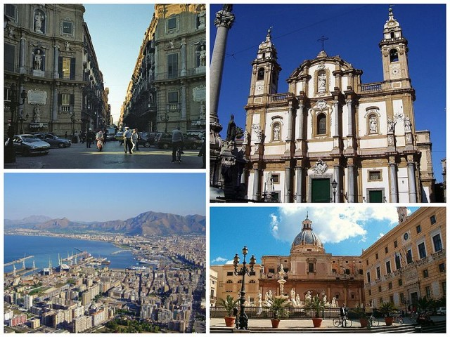 Palermo Siclly - collage by DanieleDF1995