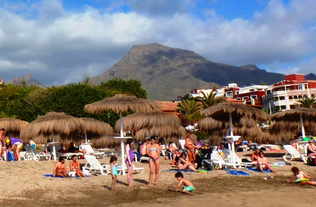 Family beach Adeje Tenerife