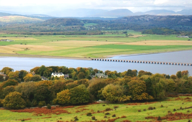 View from Arnside Knott, Cumbria