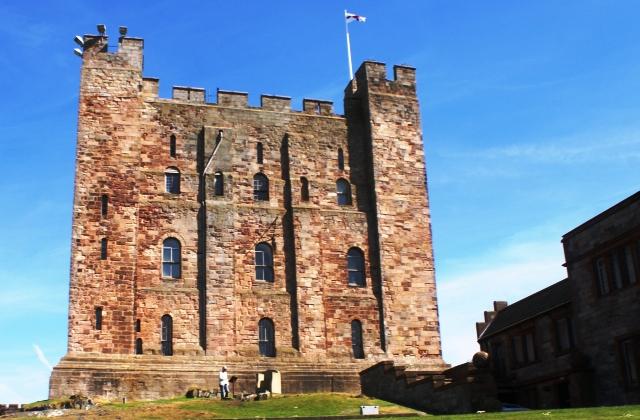 Bamburgh Castle Keep, Northumberland - image Zoe Dawes