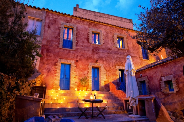 Casa Teulada at night