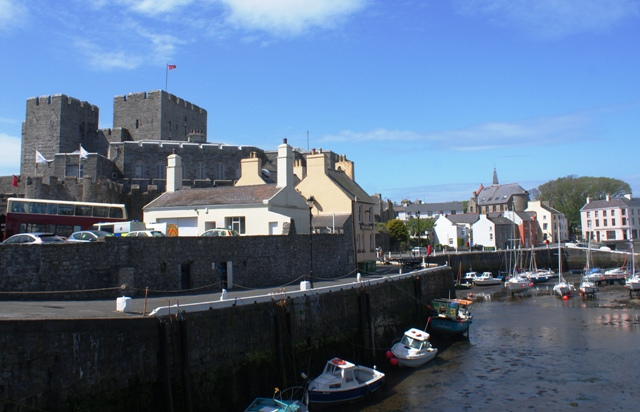 Castletown harbour and Rushen Castle - Isle of Man photo by Zoe Dawes
