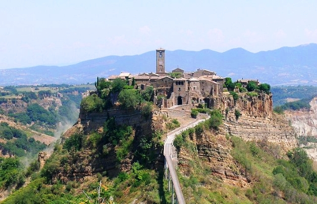 Civita di Bagnoregio in Umbria, Italy