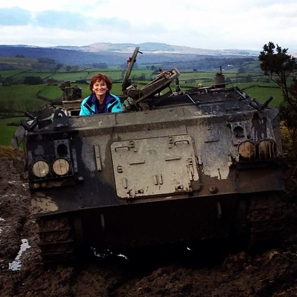  Zo Dawes tank driving