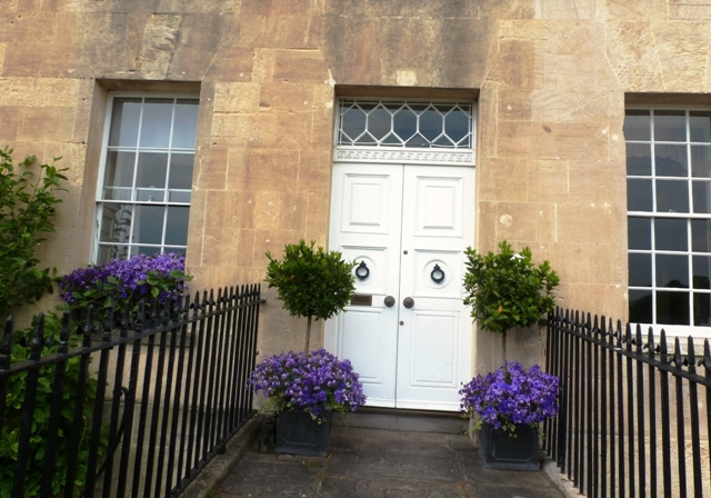 Bath Crescent Door 