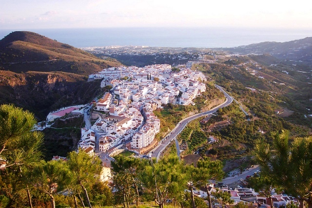 Frigiliana From Above