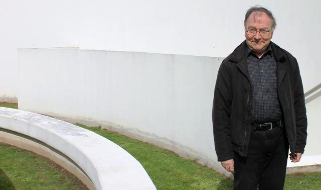 Jacky Duminy. mayor of Ors, at Maison Forestiere - photo Zoe Dawes