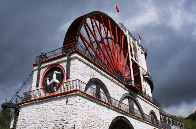 The Great Laxey Wheel or 'Lady Isabella' - IoM photo by Zoe Dawes