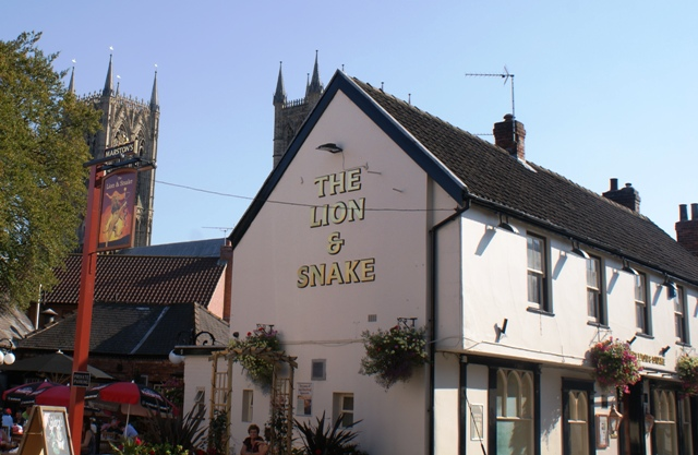 Lion & Snake pub, Lincoln