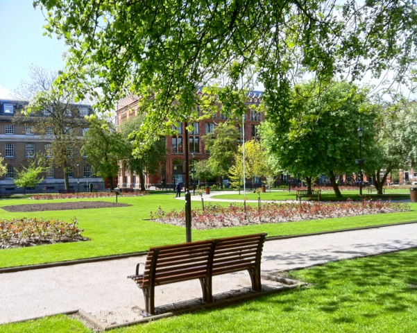 Park Square, Leeds city centre, Yorkshire