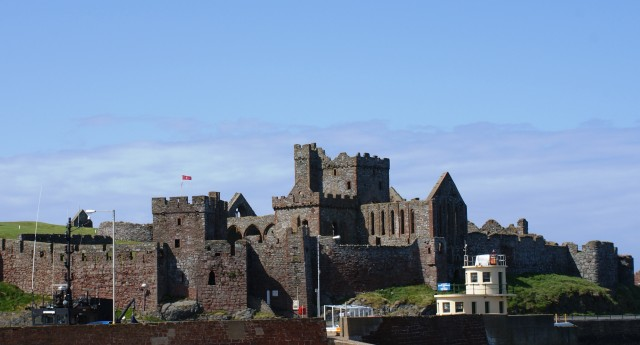 Peel Castle on the Isle of Man - photo by Zoe Dawes