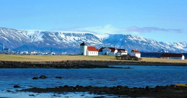 Iceland President's Residence, Reyjavik
