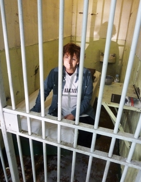 The Quirky Traveller in Alcatraz