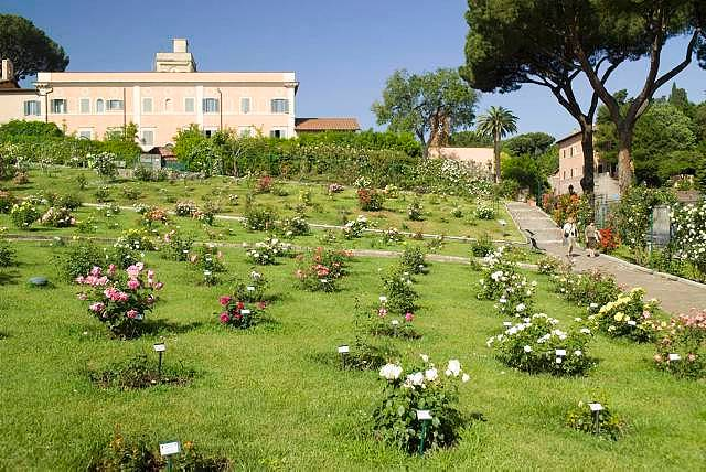 Rose Garden Aventine Hill Rome Italy (2)