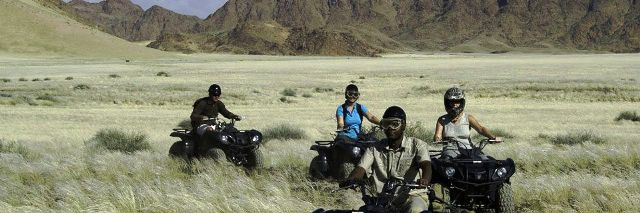 Quad biking from Kulala 