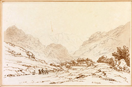 'The Road to Grasmere' by Joseph Farington