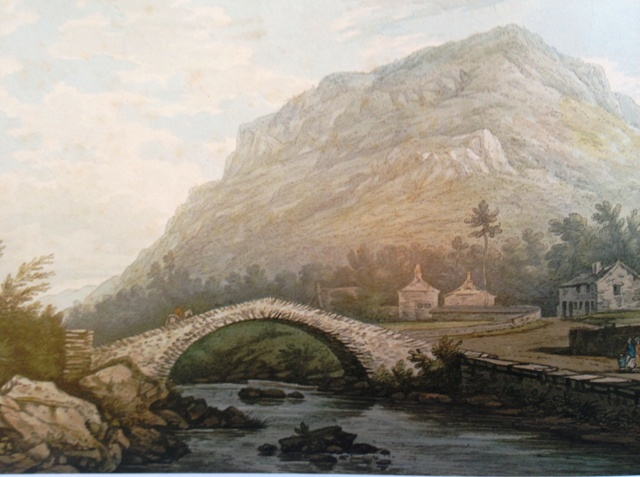Rydal Bridge by Joseph Farington