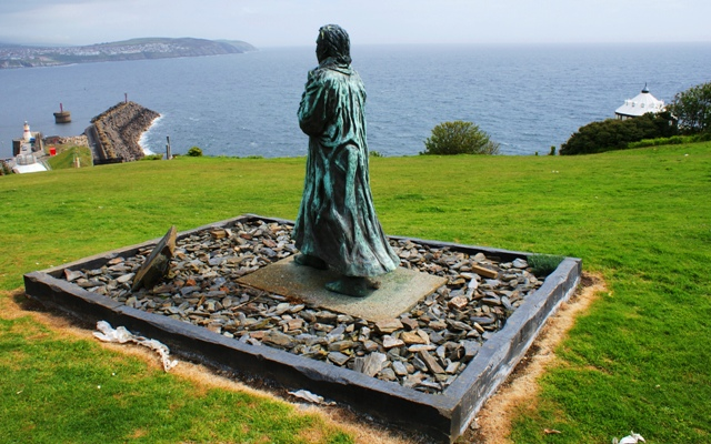 Sir William Hillary - founder of the RNLI, Isle of Man. Photo by Zoe Dawes