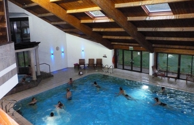 Langdale Hotel Swimming Pool in the Spa area