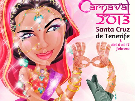 Tenerife Carnival 2013 poster