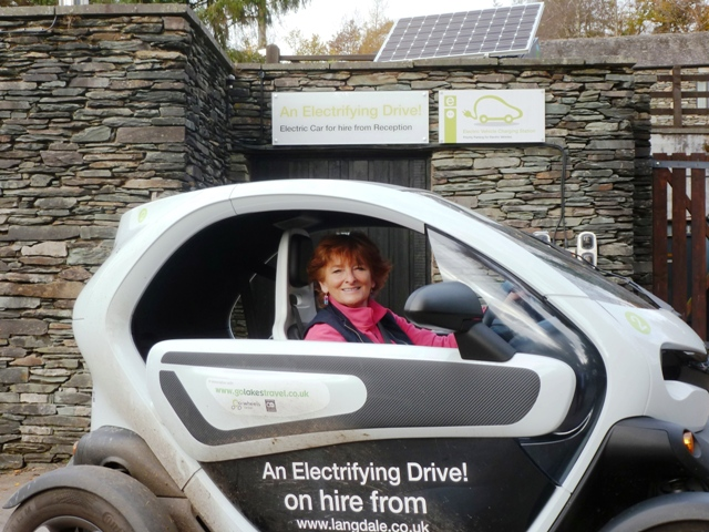Renault Twizy at Langdale Hotel, Lake District