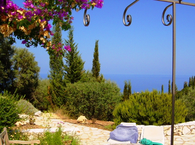 Greek villa in Lefkada