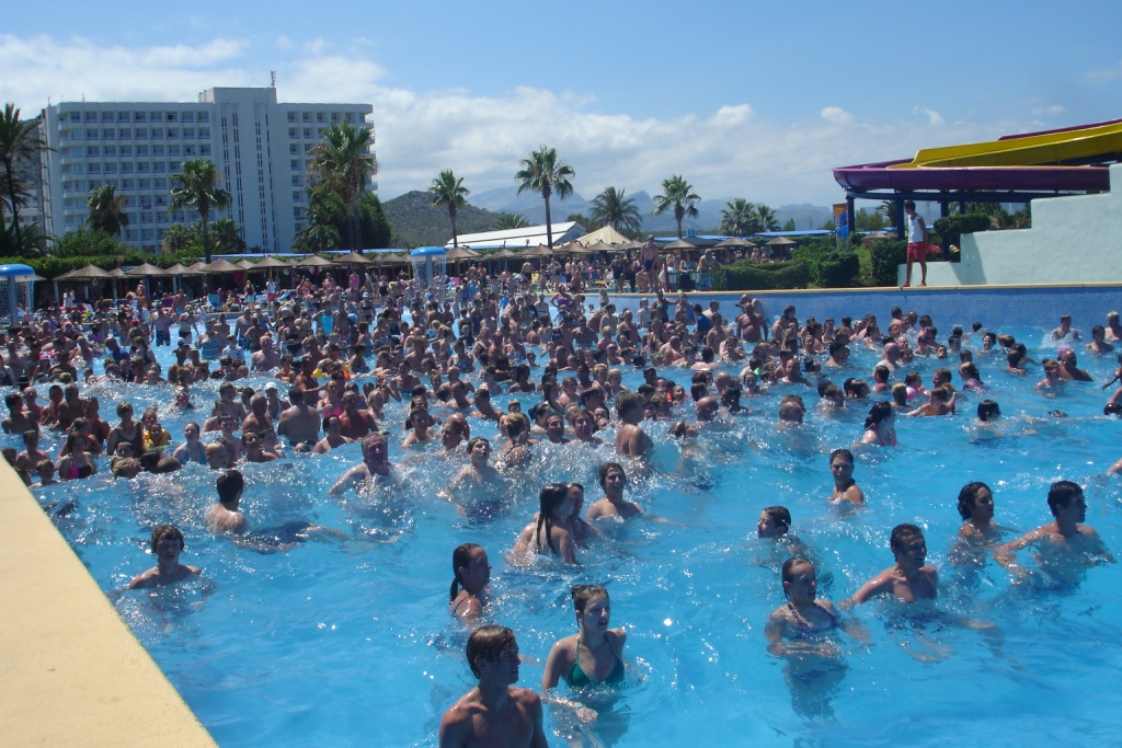 Personal Wave Pool http://www.thequirkytraveller.com/2011/07/alcudia-water-park-beach-and-old-town/