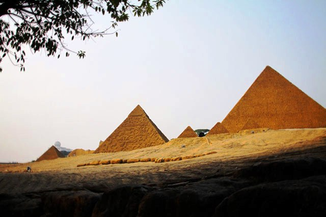 Window of the World Pyramids