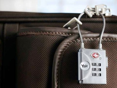 Yale TSA luggage lock