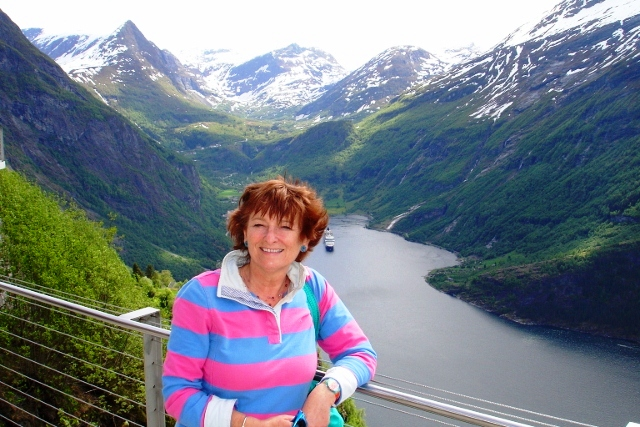 TQT &amp; 'Queen Elizabeth', Geiranger 