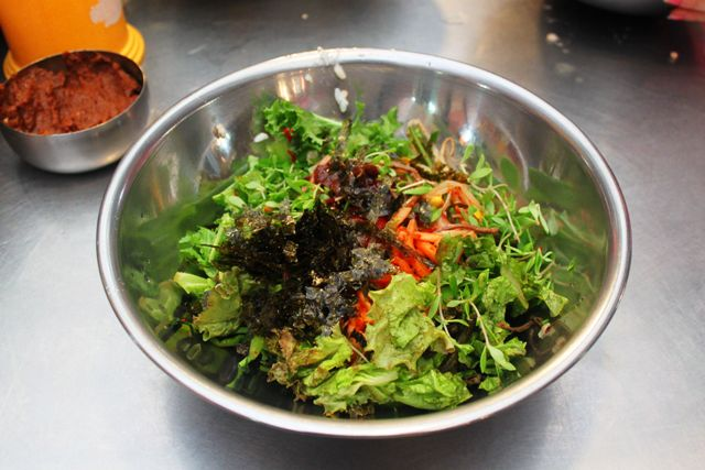 Bibimbap - photo by Amanda Slavinsky