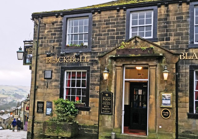 The Black Bull, Branwell Bronte's local pub in Haworth Yorkshire - photo zoe dawes