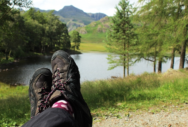 Blea Tarn Langdale Valley Lake District - photo Zoe Dawes
