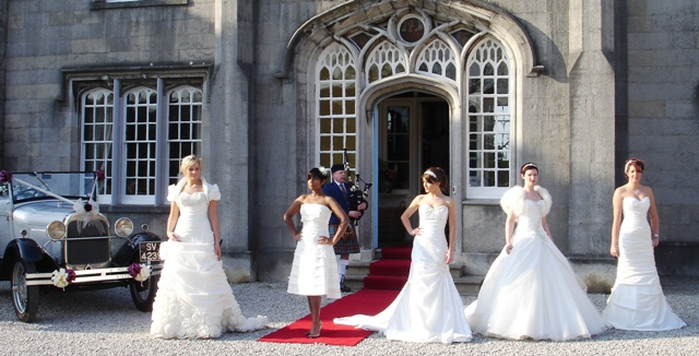 Brides at Leighton Hall