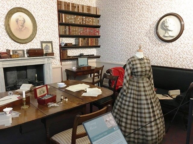 Bronte Parsonage Dining Room Haworth Yorkshire - image zoe dawes