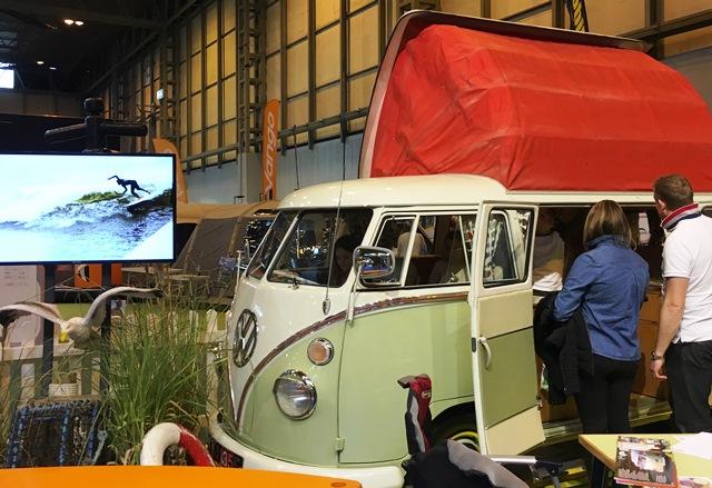 VW Campervan at Caravan, Camping & Motorhome Show NEC Bormingham