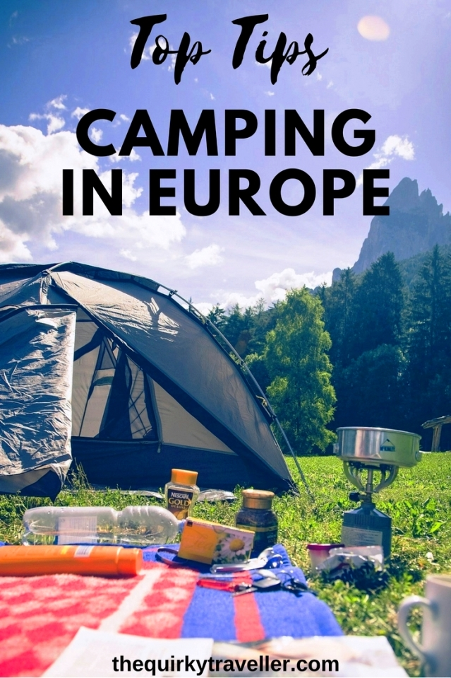 Top Tips For Travelling With A Tent In Europe