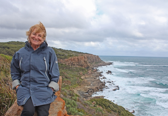 Zoe Dawes aka The Quirky Traveller on the Cape to Cape Track - Margaret River - Western Australia
