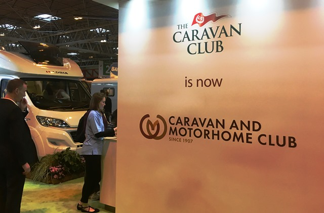 The Caravan and Motorhome Club - new name and logo