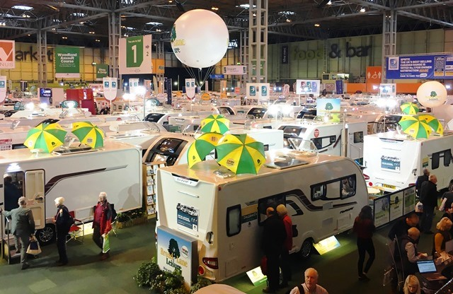 Caravan, Camping and Motorhome Show NEC Birmingham