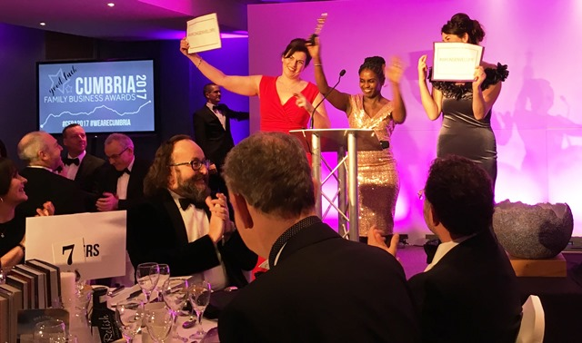 Cumbria Family Business Awards - the Wrong Envelope