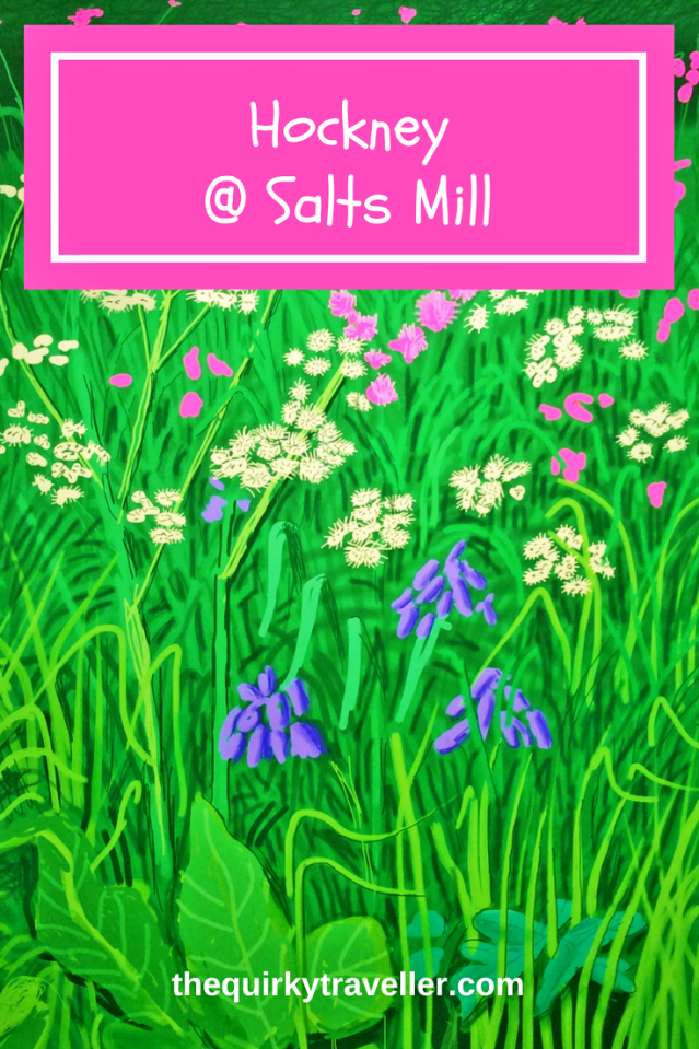 David Hockney at Salts Mill Saltaire - image zoe dawes