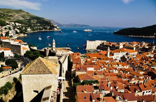 Romantic hotspots in Croatia - Dubrovnik