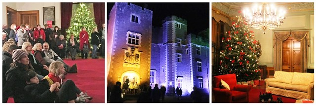 Dunster Castle Christmas Exmoor