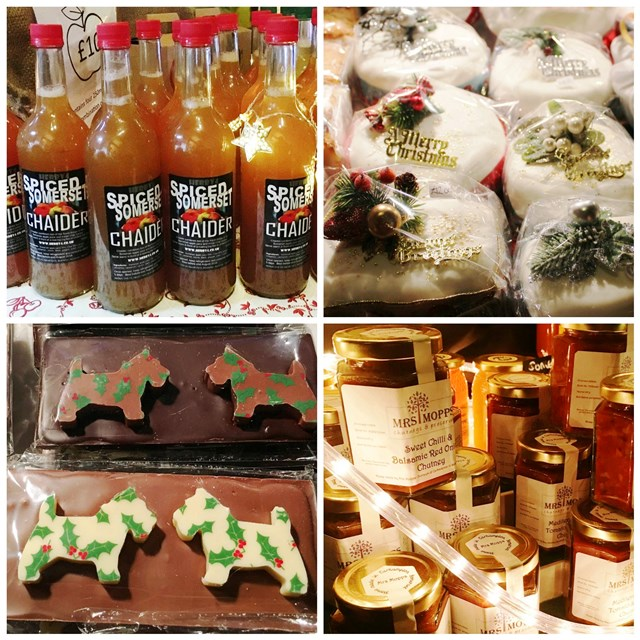 Dunster Castle Christmas Market products