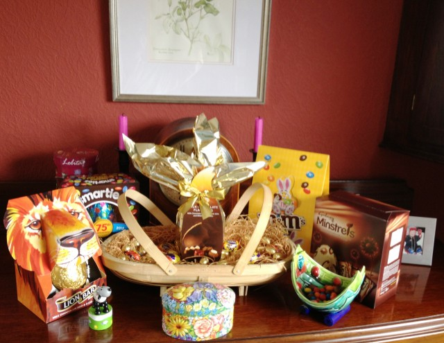 Easter Eggs in basket - Zoe Dawes