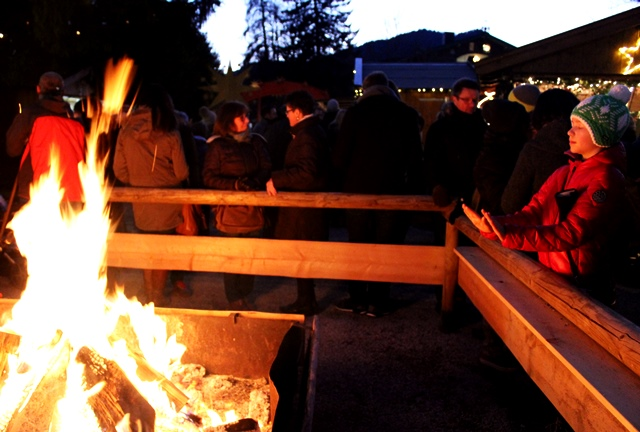 Fire at Christmas market in Bavaria Germany