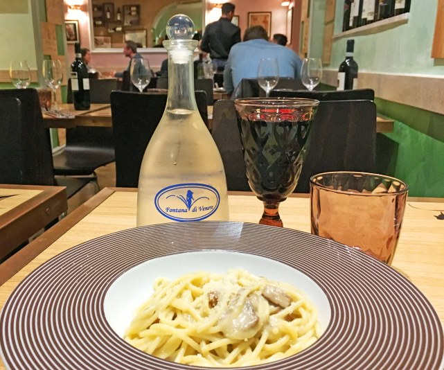 Fontana di Venere dinner Rome